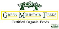 Certified ORGANIC feeds by Green Mountain Feeds